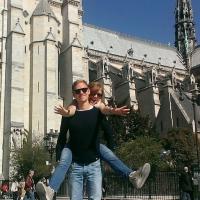 Alessandra e Giacomo insieme a Parigi