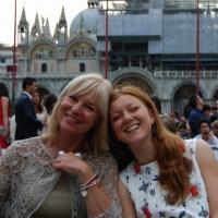 Foto di famiglia, a Venezia con Alessandra