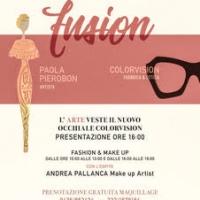 Fusion Art, Vision & Beauty - Cortina Fashion Week 2017- La locandina