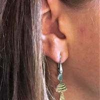 L' orecchino indossato