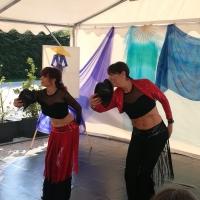 In semicerchio - le danzatrici di danza orientale