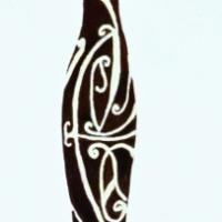 Silhouette di Donna - acrilico su tela - cm 60x20