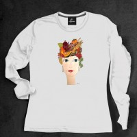 T-shirt-manica-lunga-con-Melagrana