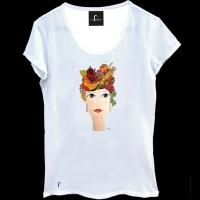 T-shirt-scollata-con-Melagrana