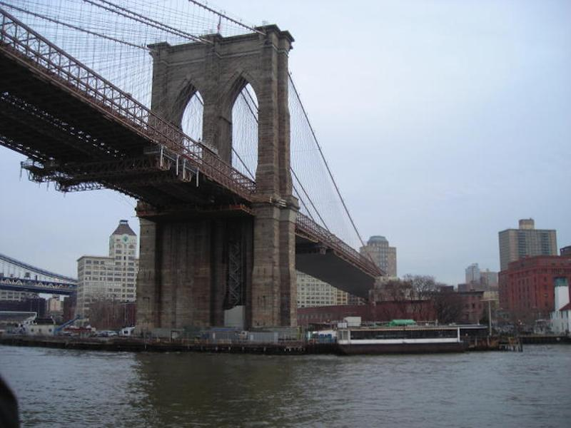 New York, il ponte di Brooklyn