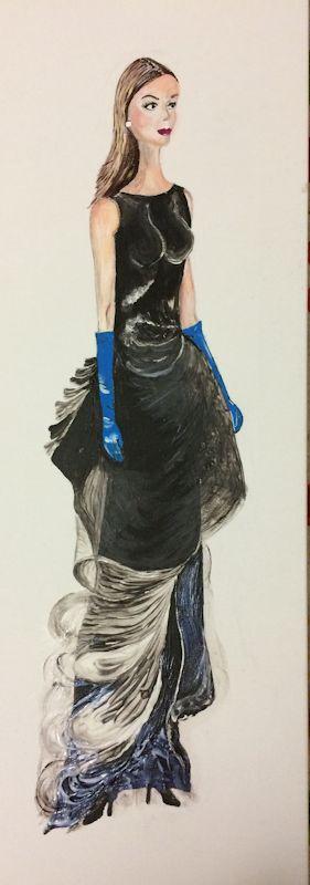 Omaggio a Dior - Acrilico su tela