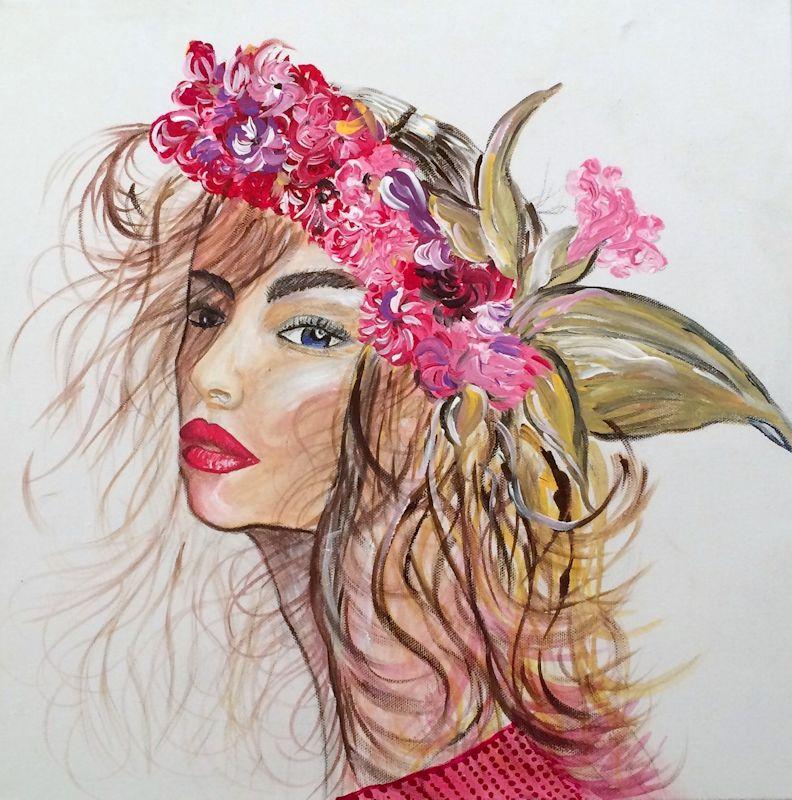 Primavera - Acrilico su tela