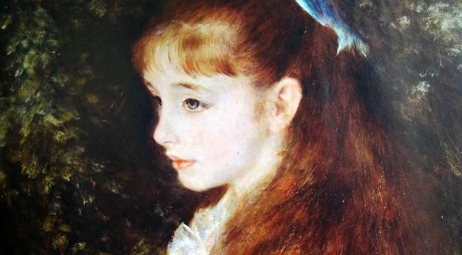 Pierre Auguste Renoir, Mademoiselle Irène Cahen d'Anvers (La piccola Irene),1880.