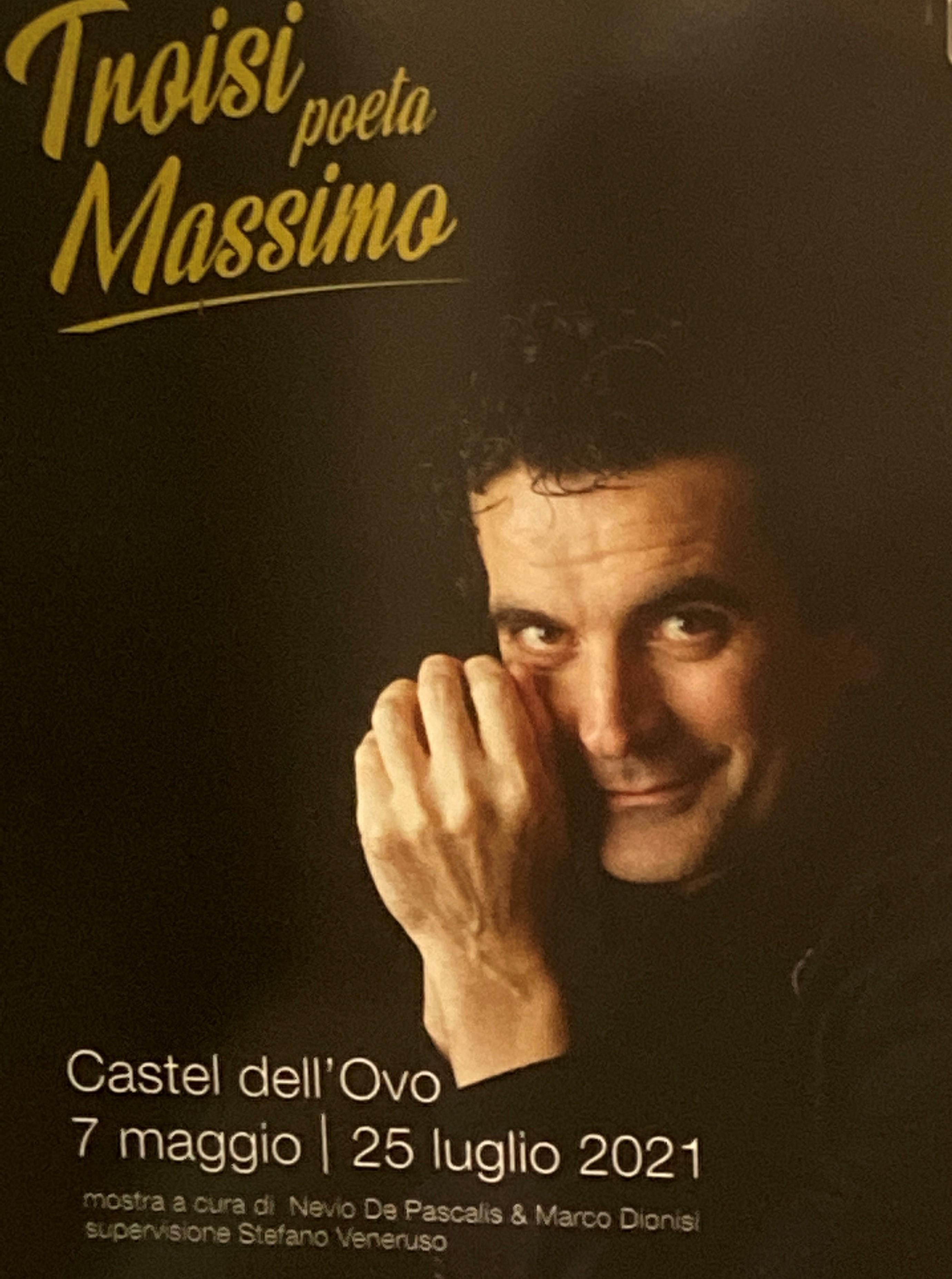 Massimo Troisi Poeta Napoli Castel dell'Ovo