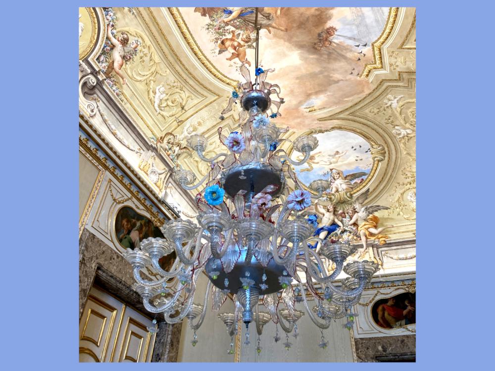 Appartamento Reale Capodimonte lampadario