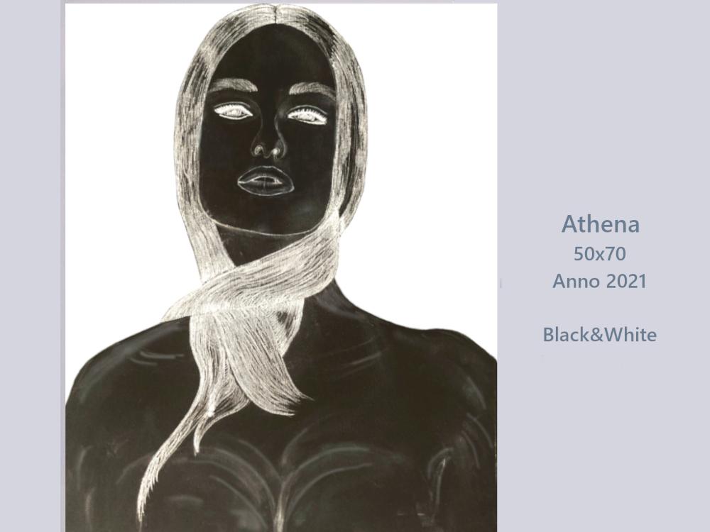 Athena_50x70_Anno 2021_blackandwhite